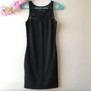 Forever 21 Black Sleeveless Dress sz S